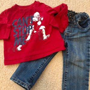 🚨2 for $12🚨12-18 month children's place outfit